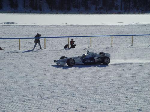 BMW Sauber on Ice - White Turf St. Moritz