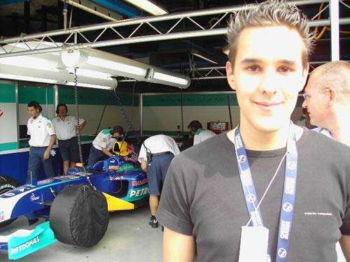 Sauber Testtag in Monza