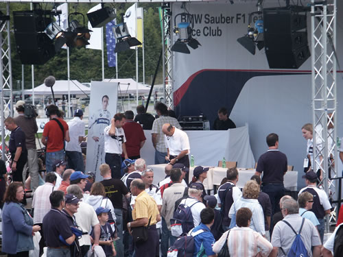 BMW Sauber Team Event in Hinwil