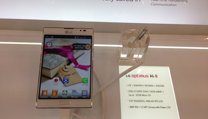 LG Optimus Vu2