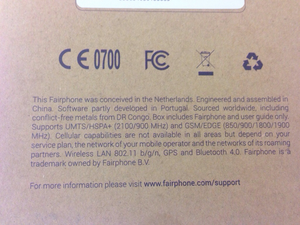 Fairphone Produktionsbedingungen