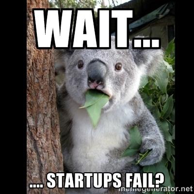 Startups fail?